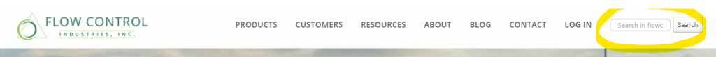 Updated Website Header
